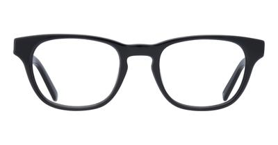 andi glasses black front