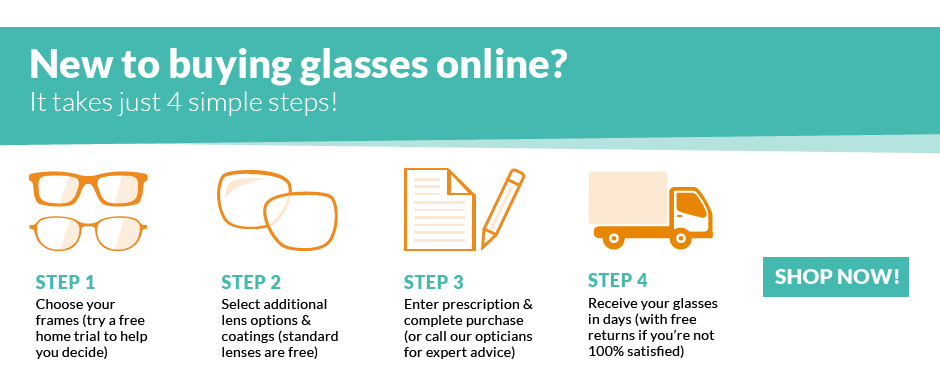 Your exclusive 4-in-1 offer from Glasses Direct e374ee8c58d0