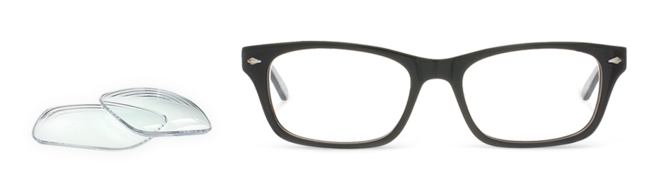8d3e59deeff Reglaze Your Existing Glasses at Glasses Direct