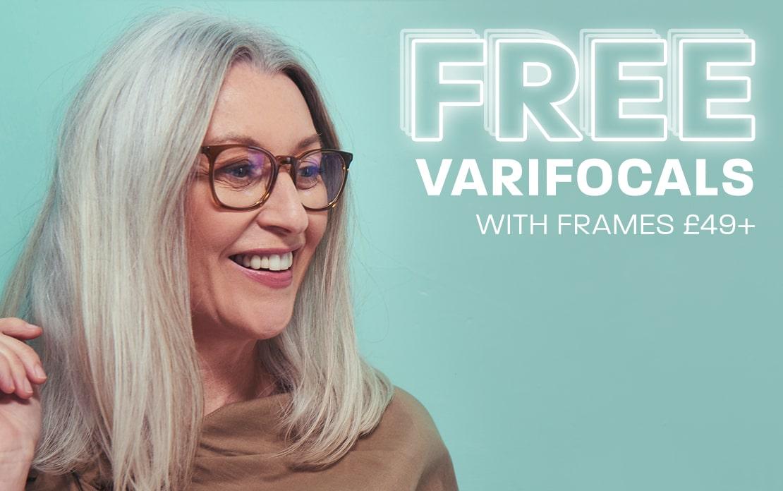Big November: Free Varifocals with frames £49+