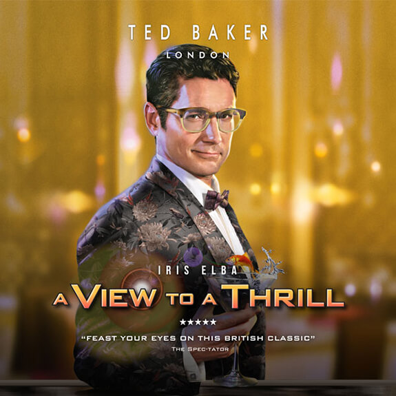 Ted Baker London - Iris Elba in A View To A Thrill
