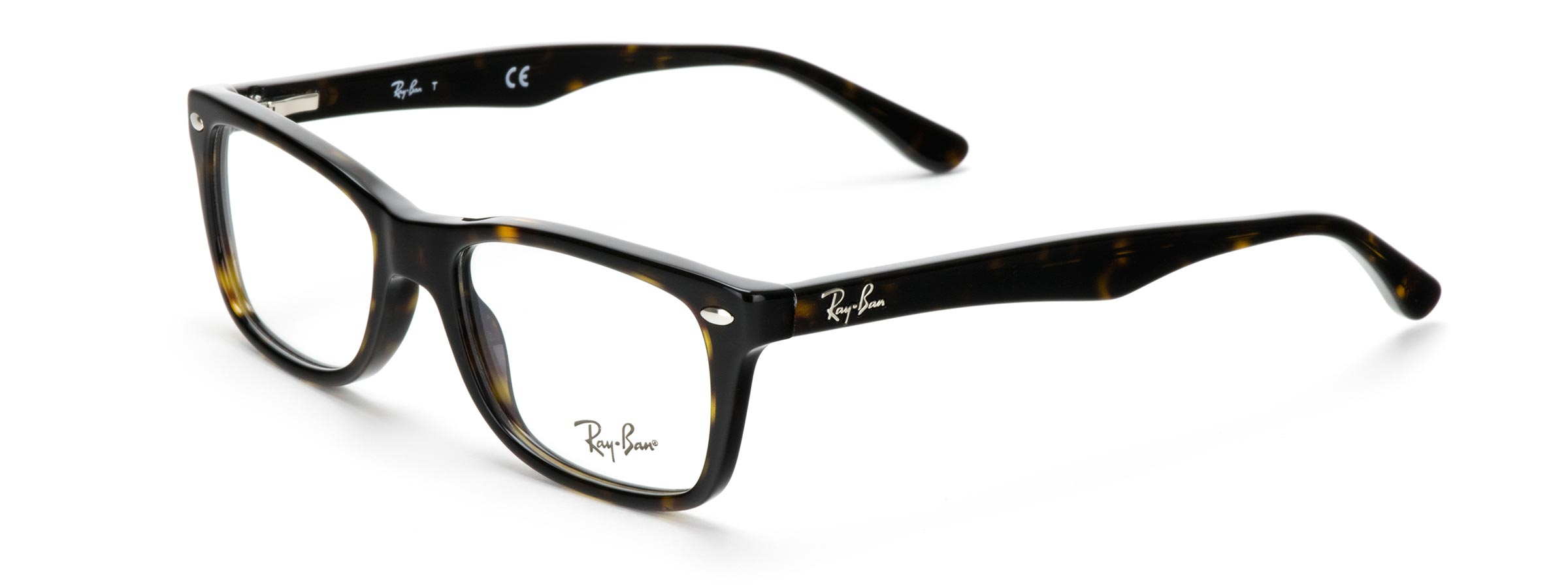 Ray-Ban 5228-50 glasses in Dark Havana