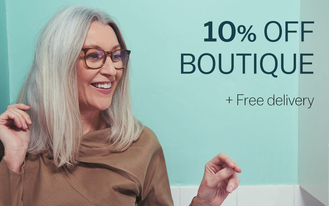 Get 10% off Boutique + free delivery