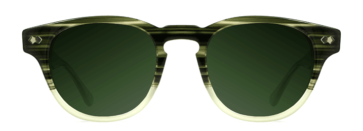 Green dark tint sunglasses image