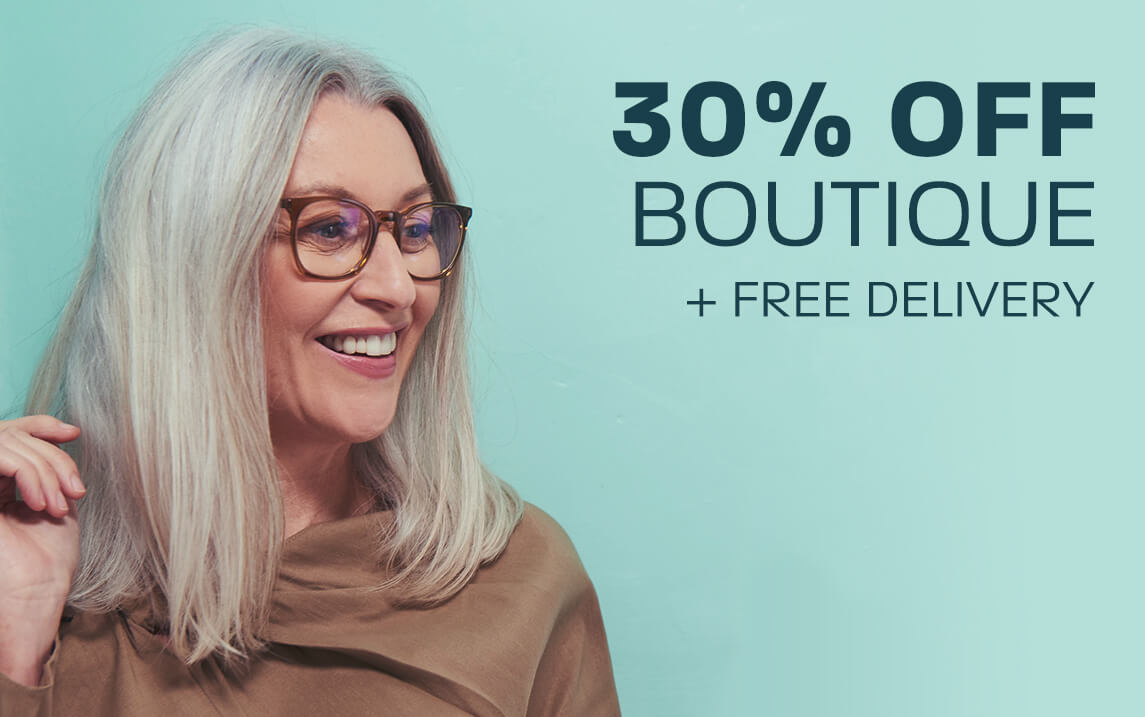 30% off Boutique + Free delivery