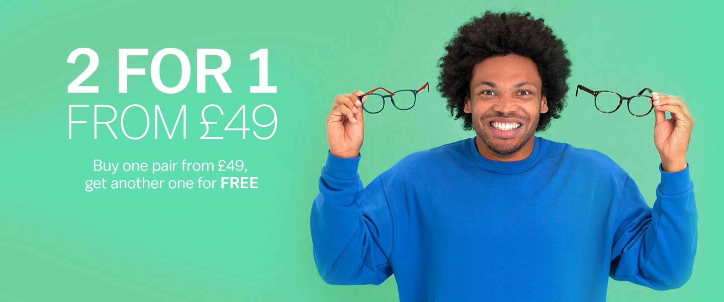 264abda9c12 Glasses Direct ™ - 2 Pairs From £19 - As Seen on TV