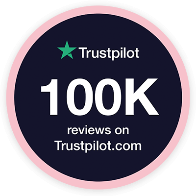 100k reviews on Trustpilot.com