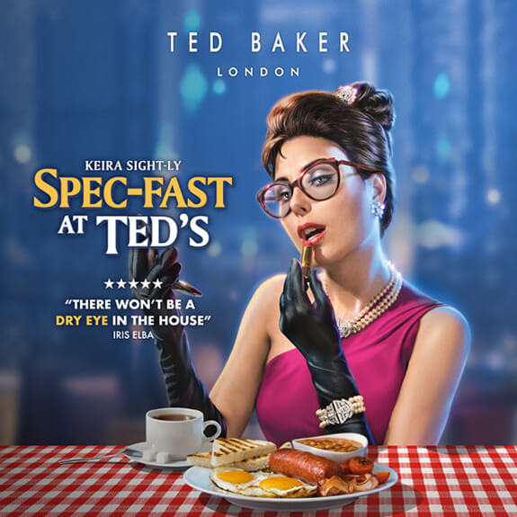 Ted Baker London - Keira Sight-ly in Spec-fast at Ted's