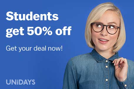 Students get 50% off - Get your deal now!