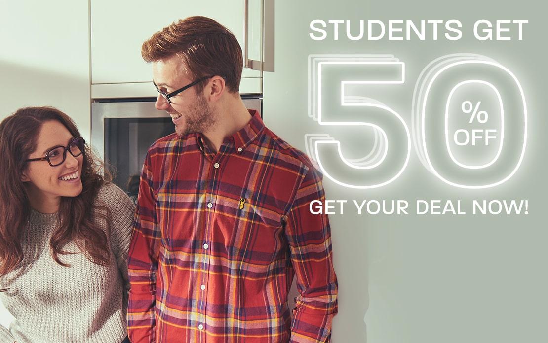 Big November: Students get 50% off